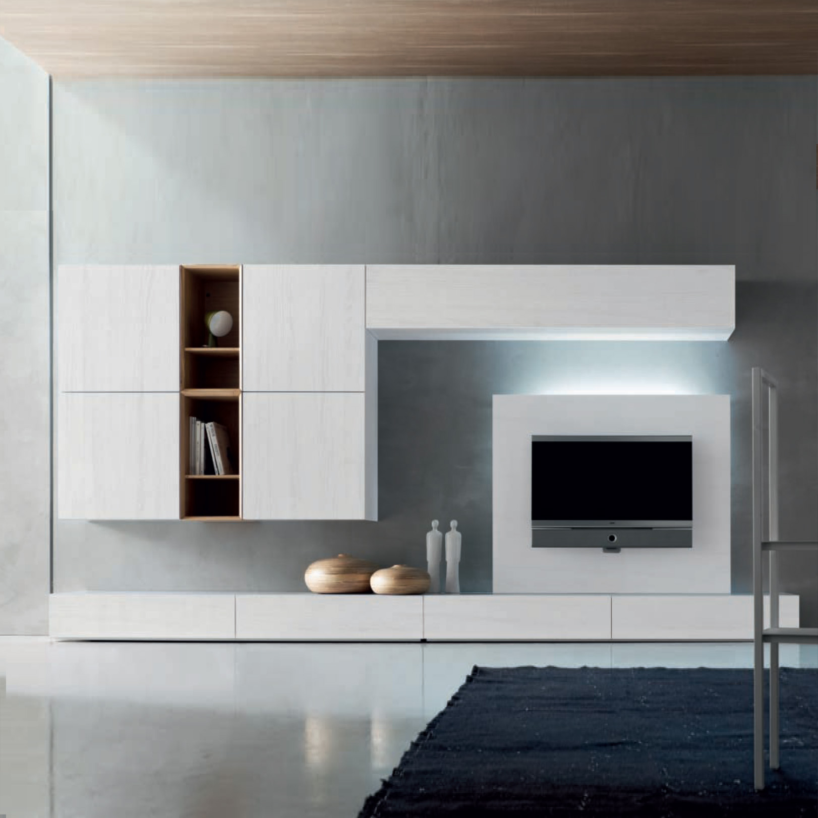 Tv entertainment units inspiration gallery for Modern italian design